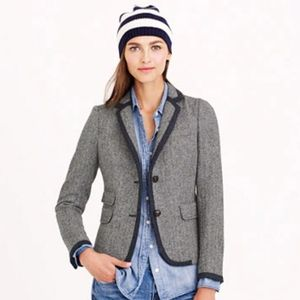 J. Crew wool schoolboy blazer sz 8